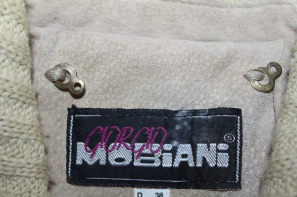 "Jacheta din piele intoarsa ""Giorgio Mobiani"" anii '80"