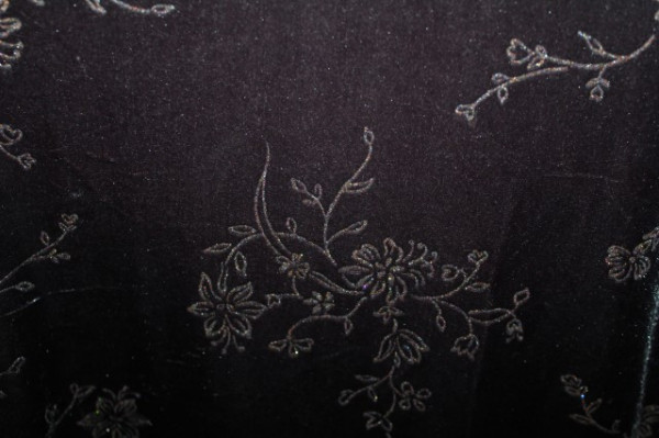 Rochie de seara din catifea gri anii '80