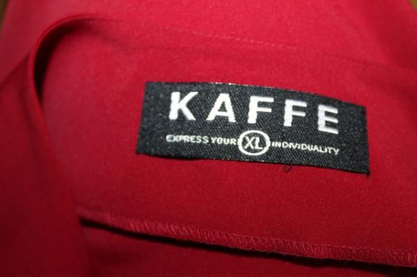 """Rochie maxi rosie """"Kaffe"""" anii '90"""
