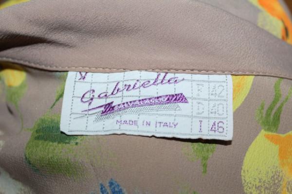 """Rochie retro """"Gabriella Salvacaglio"""" anii '80"""