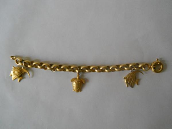 Charm bracelet pesti anii '80