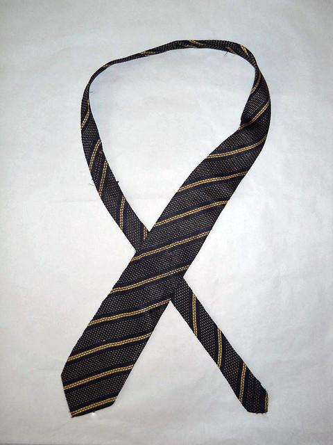 "Cravata vintage din matase naturala tesuta ""Burberrys"" anii '70"