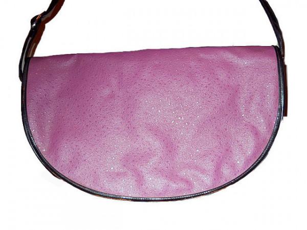 Geanta violet semiluna anii '70