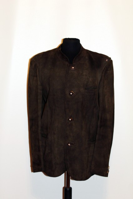 Jacheta tiroleza verde inchis anii '70