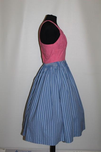 Rochie bicolora anii '50