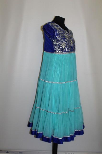 Rochie de tip kurta indiana repro anii '70