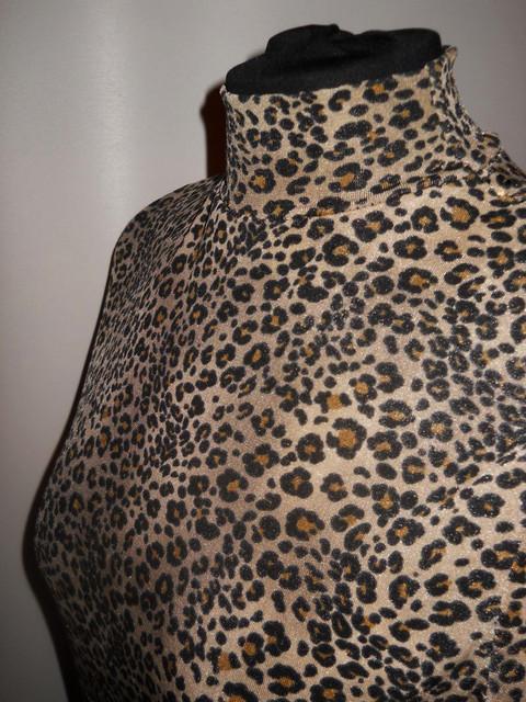 Bluza animal print anii '80- '90