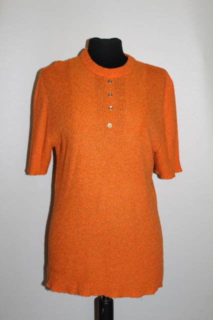Bluza portocalie anii '70