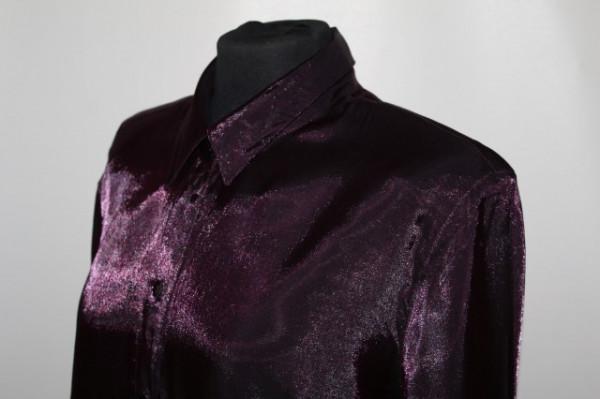 Camasa din moar violet anii '90