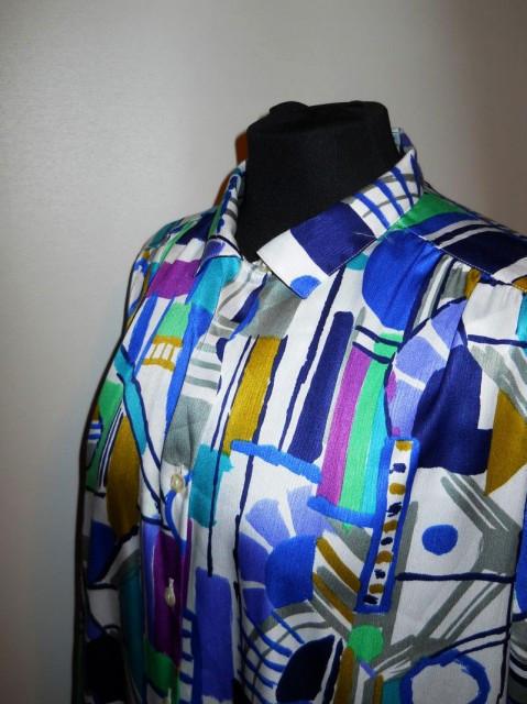 """Camasa retro """"PierBe International"""" anii '80"""