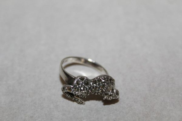 Inel de argint cu tigru anii '90
