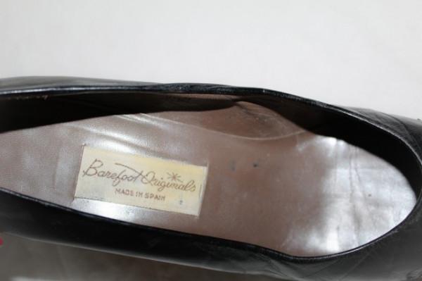 Pantofi vintage cu tinte metalice anii '80