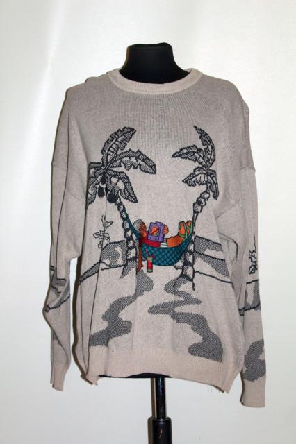 Pulover bărbătesc palmieri anii 90