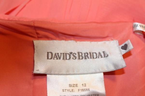 """Rochie de ocazie frez """"David's Bridal"""""""