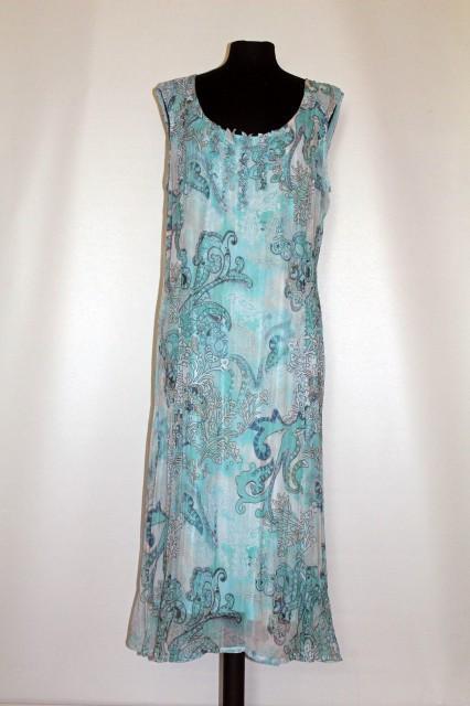 Rochie din voal plisat repro anii '70