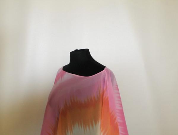 "Bluza de plaja ""Daisy Fuentes"" anii '90"