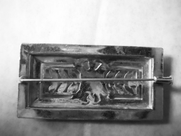 Brosa Art Deco cristale anii '20