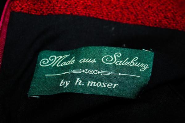 "Dirndl ""H. Moser"" anii '80"