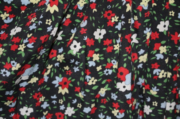 Fustă mini floricele anii 90
