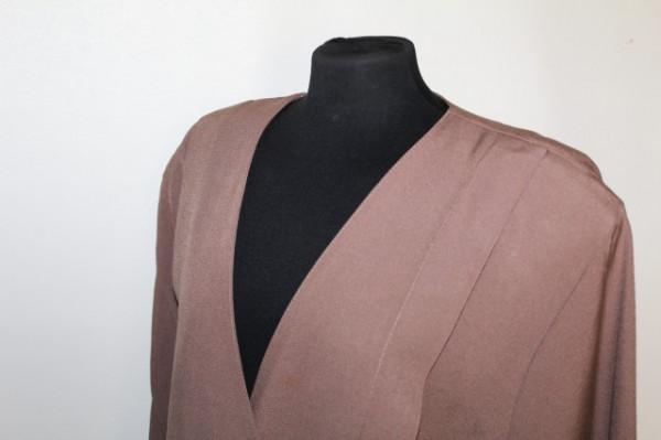 Jacheta maro din grosgrain anii '80