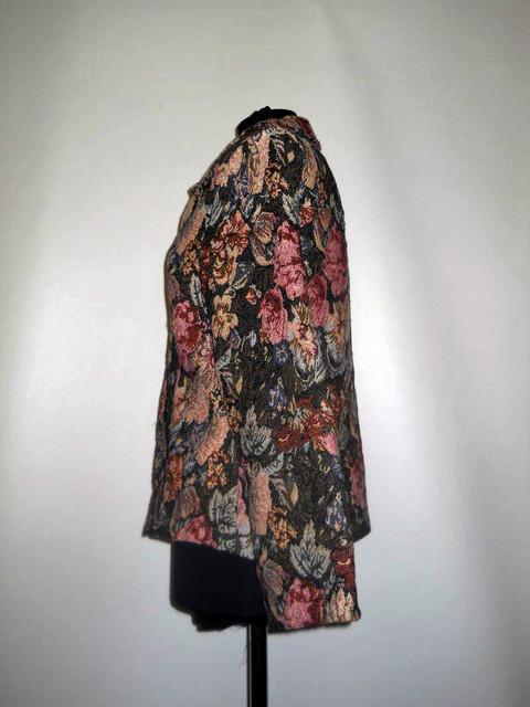 Jacheta retro tapiserie anii '90