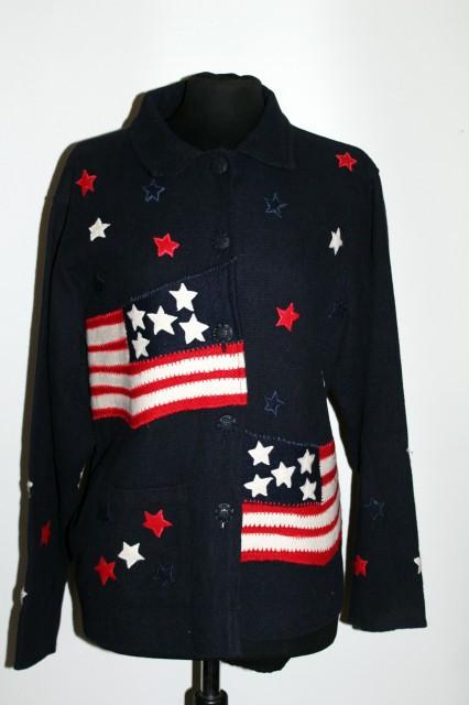 Jacheta steag american anii '70