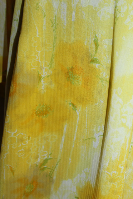 Kurta flori galbene anii 90