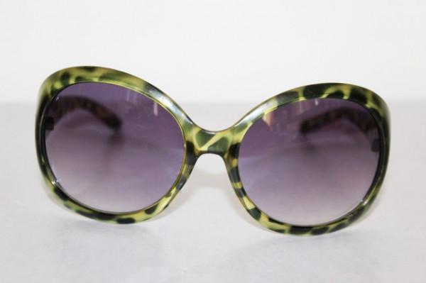 Ochelari de soare rame leopardate verzi anii '90