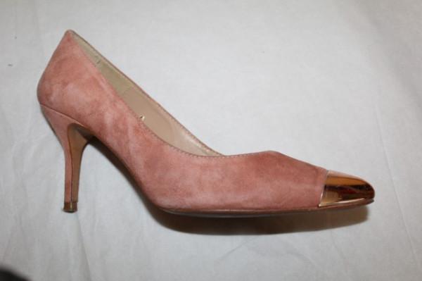 Pantofi bot metalic repro anii '80