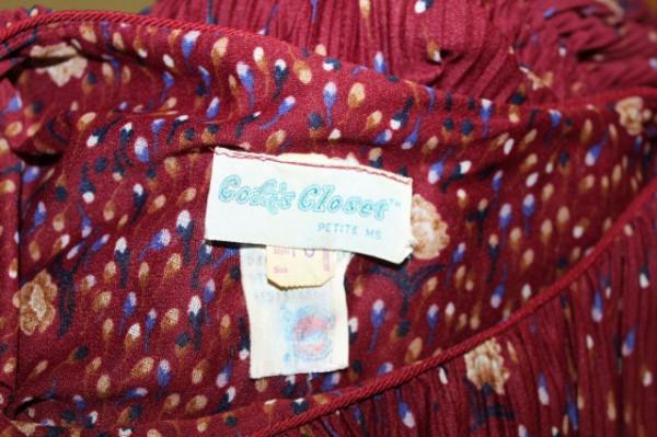 """Rochie """"Cofa's Closet"""" anii '70"""