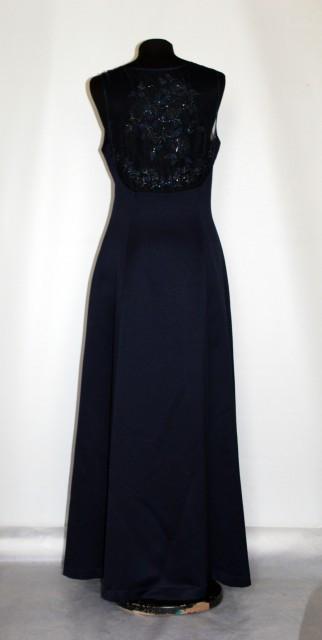 Rochie de seara bleumarin anii '90