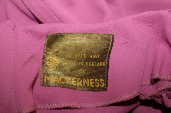 """Rochie de seara """"Mackerness"""" anii '70"""