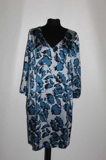 """Rochie din matase naturala """"By Groth"""" repro anii '60"""