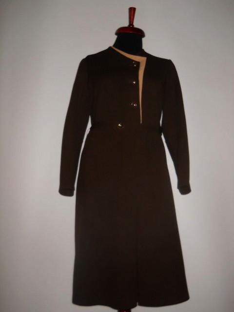 Rochie din tricot reiat de poliester anii '50