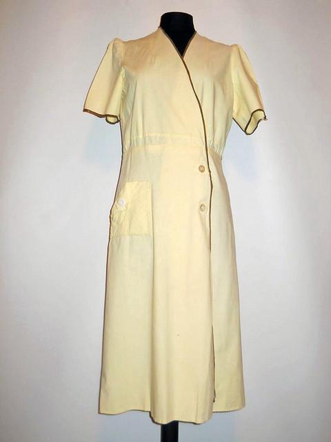 Rochie galbena anii '30