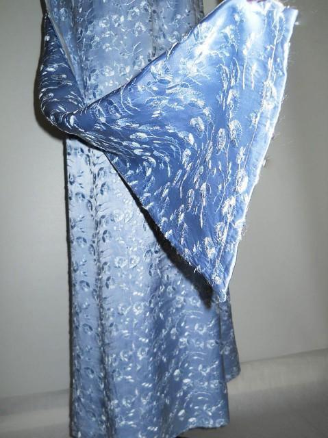 Rochie vintage de seara bleu anii '60