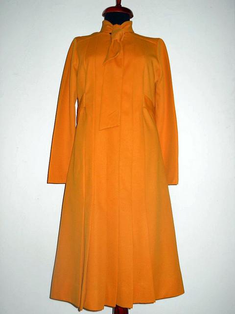 Rochie vintage Portland orange anii '60