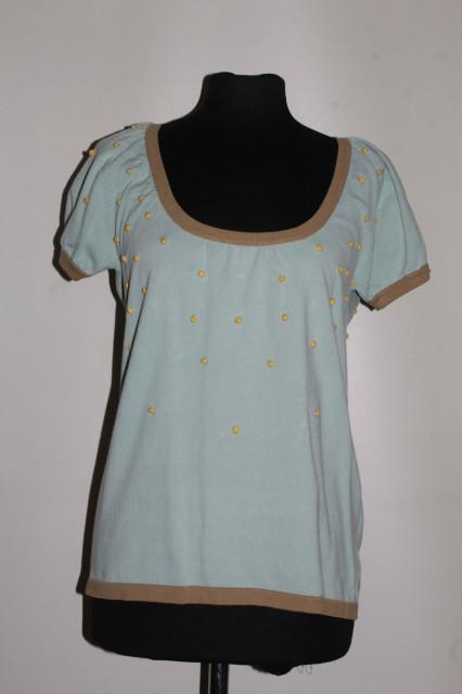 Bluză bumbișori galbeni repro anii 50