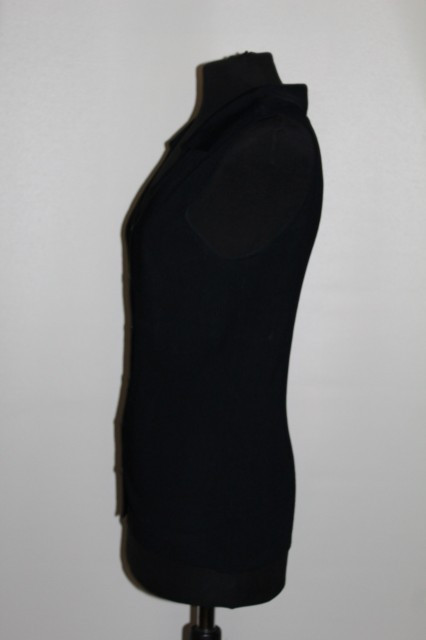 Bluza din tricot negru repro anii '60