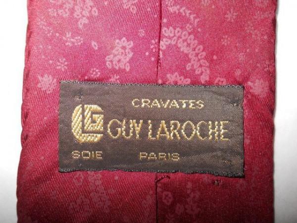 "Cravata vintage fantezie ""Guy Laroche"" anii '60"