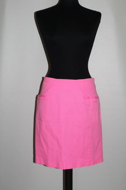 Fustă roz neon repro anii 80