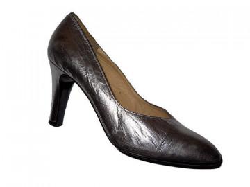 Pantofi retro argintii anii '80
