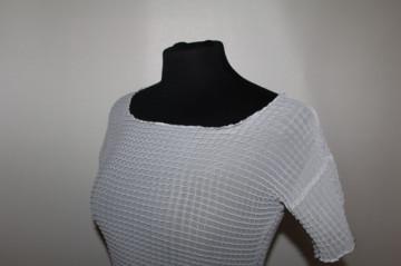 Bluza din voal plisat anii '90