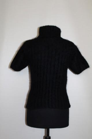 Bluză neagră inimioare stilizate anii 90