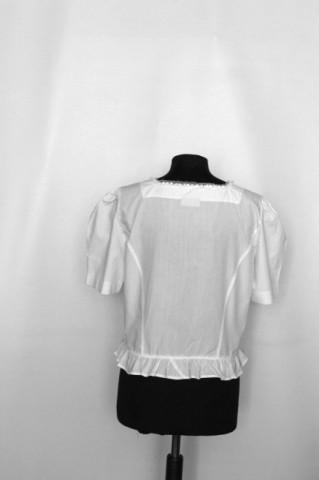 Bluză stil tirolez volănașe anii 90