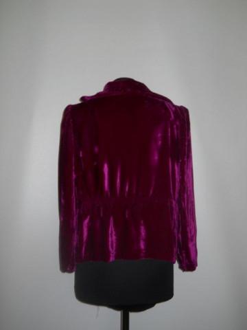 Bluza vintage din catifea de matase anii '20