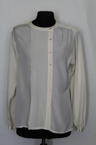 "Camasa ivoire 'Liz Clairborne"" anii '70 - '80"