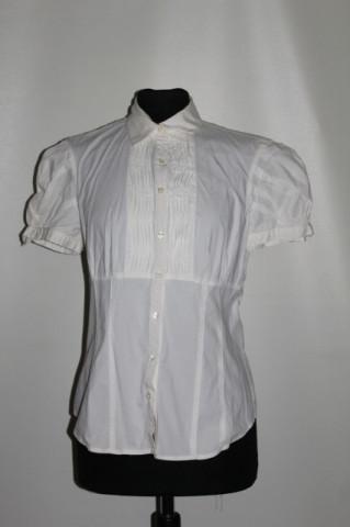 Camasa pliseuri zigzagate repro anii '60