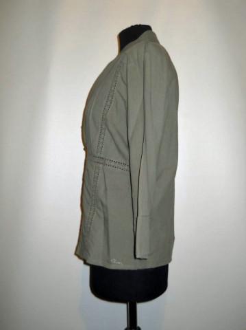 Camasa retro kaki stil etnic anii '90
