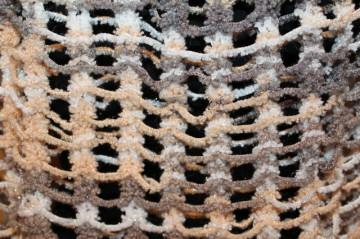 Capa din boucle fishnet anii '80